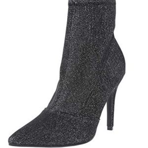 LAST ONE Glitter Ankle Stiletto super stretchy 7